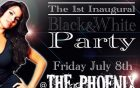 blackwhiteparty flyer