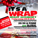 It's a Wrap! The End of Year Hip Hop Party