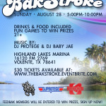 The BakStroke Boat Party